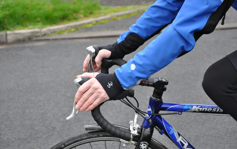 Cycling Wrist Warmers and Gloves