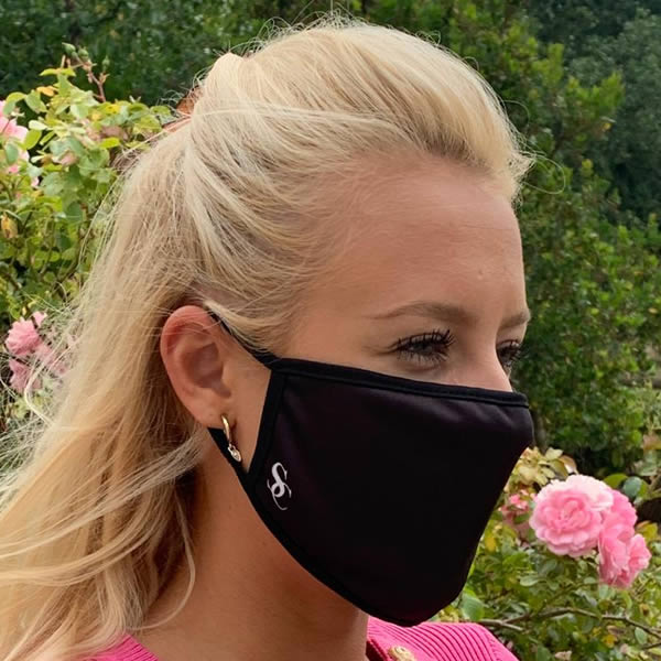 Stormchase black face mask